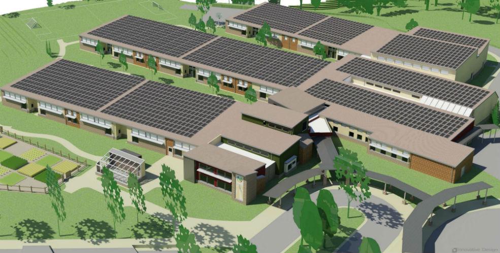 net zero energy school southeast north carolina appalachian offsets fundraiser isaac dickson elementary